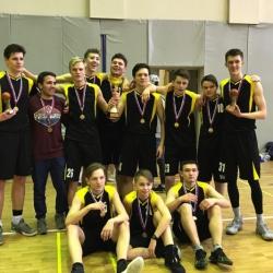 Чемпионат Лиги юношеского баскетбола Одинцовского района_1